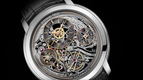 Jules Audemars 26143 Tourbillon Openworked Platinum