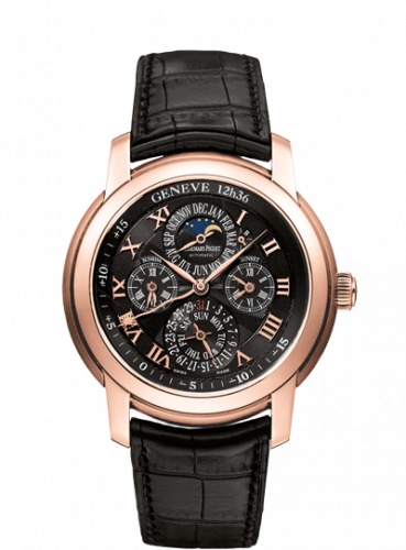 Jules Audemars 26003 Equation of Time Pink Gold / Silver