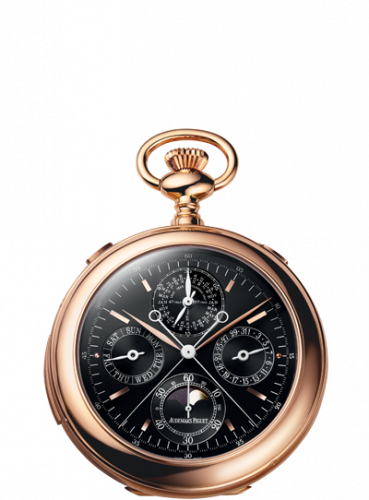 Pocket Watch 25701 Grande Complication Pink Gold