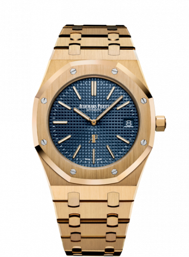 Royal Oak Extra-Thin Yellow Gold / Blue