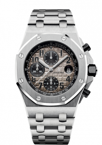 Royal Oak Offshore 42 Platinum / Slate / Bracelet