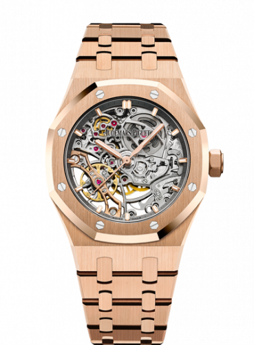 Royal Oak 37 Double Balance Wheel Openworked Pink Gold