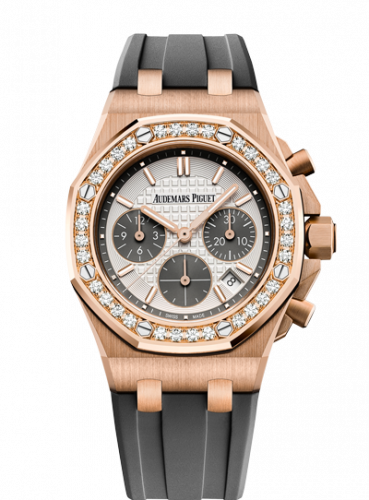 Royal Oak OffShore 26231 Lady Chronograph Pink Gold / Silver / Diamond