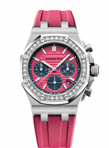 Royal Oak OffShore 26231 Lady Chronograph Stainless Steel / Pink / Diamond