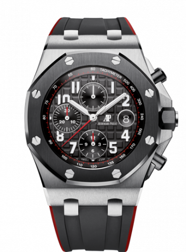 Royal Oak Offshore 42 Stainless Steel / Ceramic / Black / Rubber