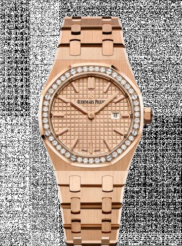 Royal Oak 67651 Quartz Pink Gold / Pink / Bracelet