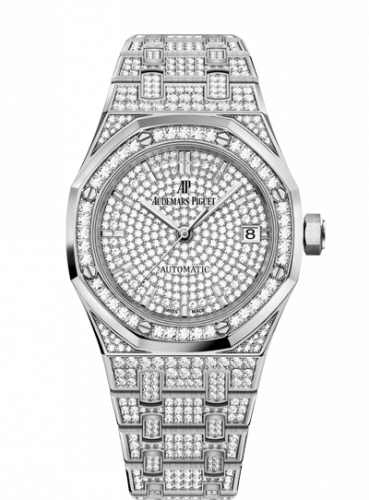 Royal Oak 15452 Selfwinding White Gold / Diamond / Diamond