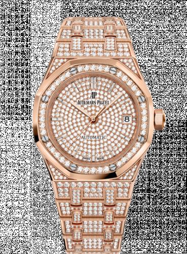 Royal Oak 15452 Selfwinding Pink Gold / Diamond / Diamond