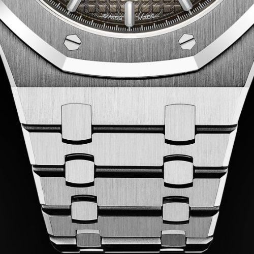 Royal Oak Chronograph 41 Platinum / Smoked Slate / Bracelet