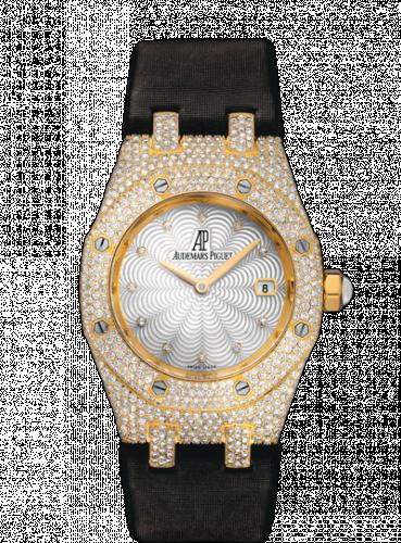 Royal Oak 67601 Quartz Yellow Gold / Diamond / MOP