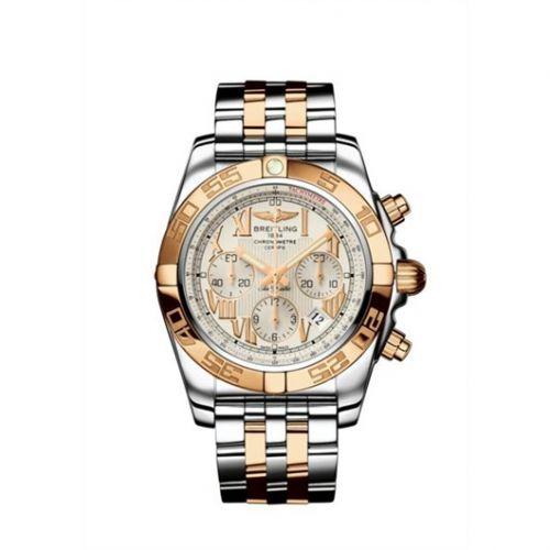 Chronomat 44 Stainless Steel / Rose Gold / Sierra Silver Roman  / Bracelet