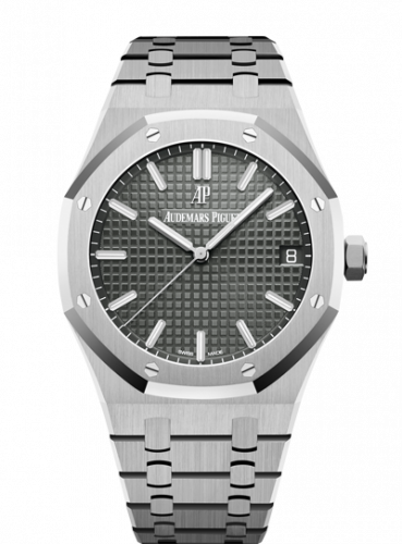 Royal Oak 15500 Stainless Steel / Grey