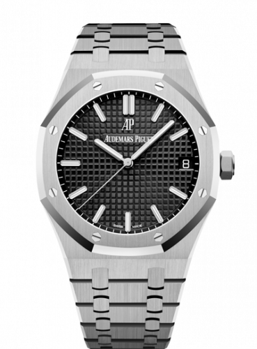 Royal Oak 15500 Stainless Steel / Black