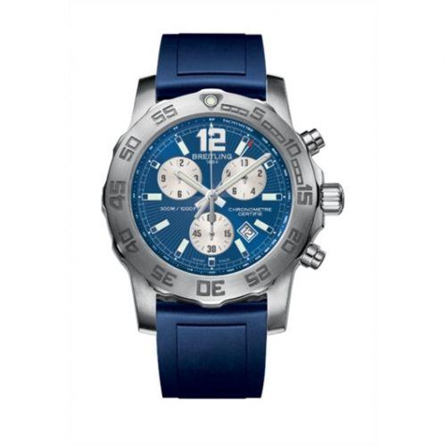 Colt Chronograph II Blue / Rubber