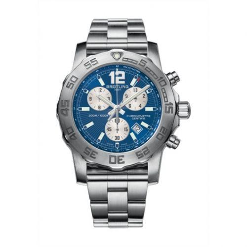 Colt Chronograph II Blue / Bracelet