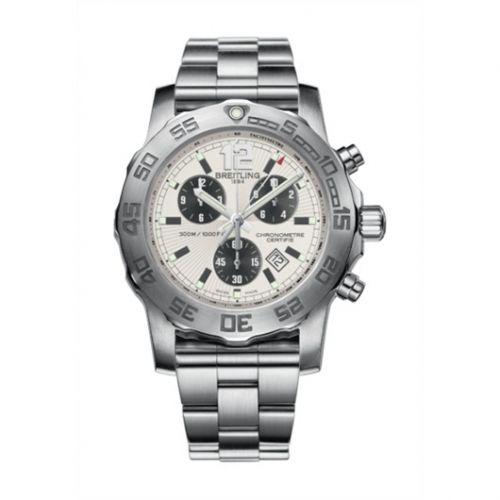 Colt Chronograph II Silver / Bracelet
