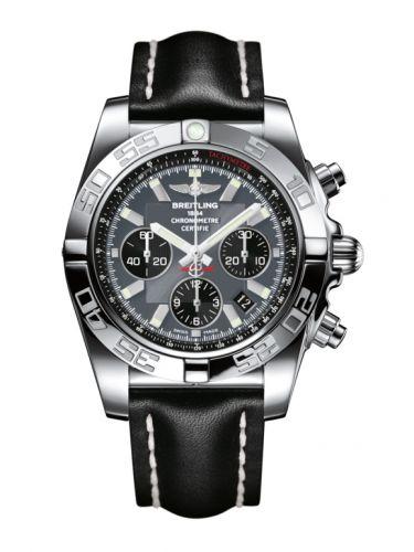 Chronomat 44 Stainless Steel / Blackeye Grey / Calf