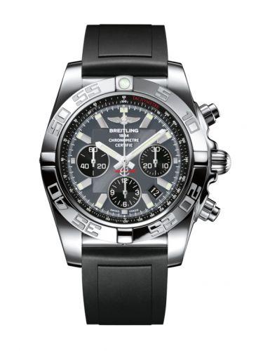 Chronomat 44 Stainless Steel / Blackeye Grey