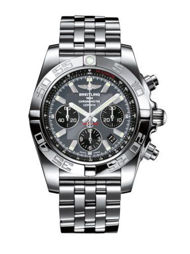 Chronomat 44 Stainless Steel / Blackeye Grey / Bracelet