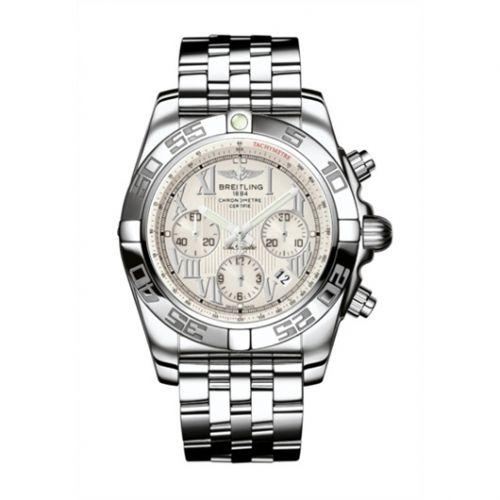 Chronomat 44 Stainless Steel / Sierra Silver Roman / Bracelet