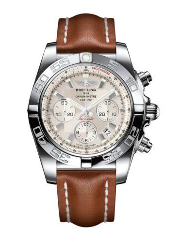 Chronomat 44 Stainless Steel / Silver / Calf