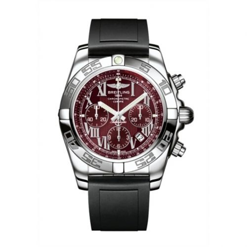Chronomat 44 Stainless Steel / Mirage Red / Rubber