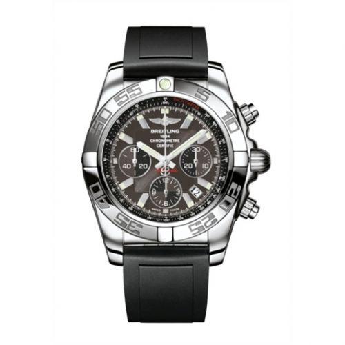 Chronomat 44 Stainless Steel / Carbon Black / Rubber