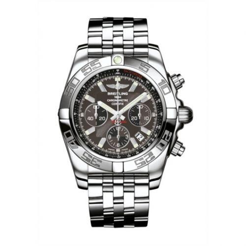 Chronomat 44 Stainless Steel / Carbon Black / Bracelet