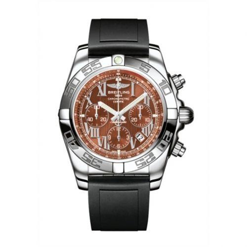 Chronomat 44 Stainless Steel / Amber / Rubber