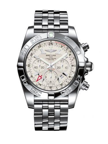 Chronomat 47 GMT Stainless Steel / Sierra Silver / Bracelet