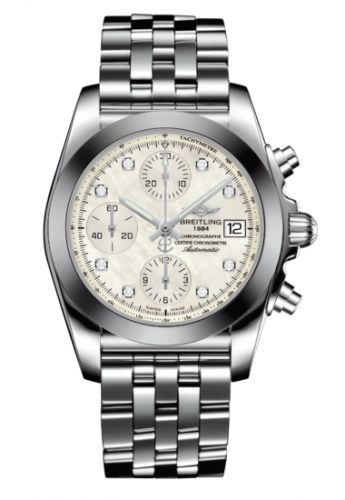 Chronomat 38 SleekT Pearl Diamond