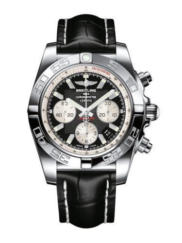 Chronomat 44 Stainless Steel / Inverted Panda / Croco