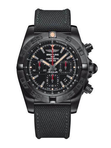 Chronomat 44 Blacksteel / Black / Military