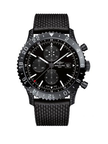 Chronoliner Blacksteel Diamondworks / Black / Rubber