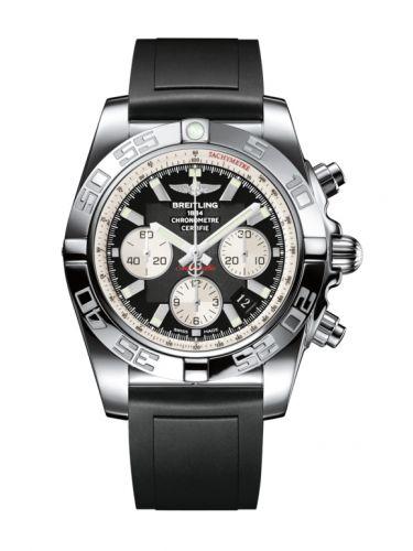 Chronomat 44 Stainless Steel / Inverted Panda / Rubber