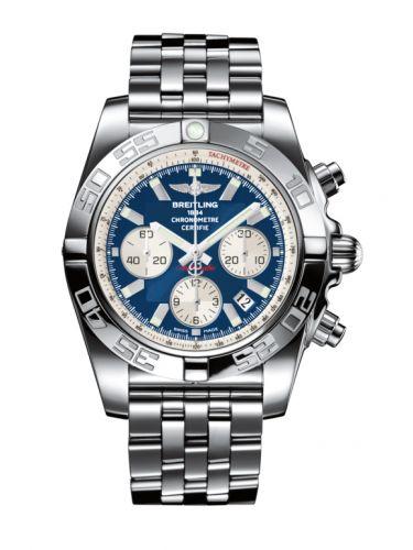Chronomat 44 Stainless Steel / Blue / Bracelet