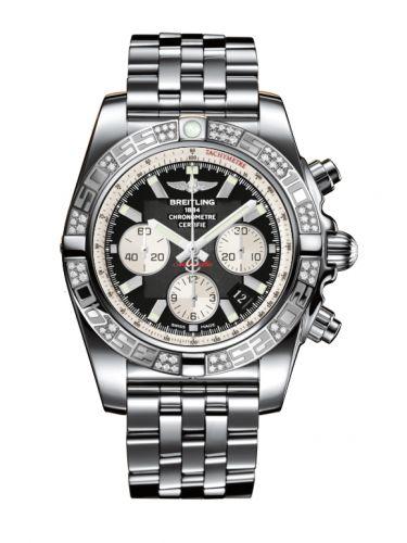 Chronomat 44 Stainless Steel / Diamond / Onyx Black / Bracelet