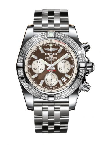 Chronomat 44 Stainless Steel / Diamond / Metallica Brown / Bracelet
