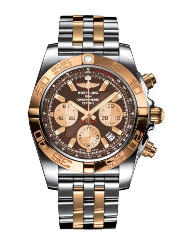 Chronomat 44 Stainless Steel / Rose Gold / Metallica Brown / Bracelet