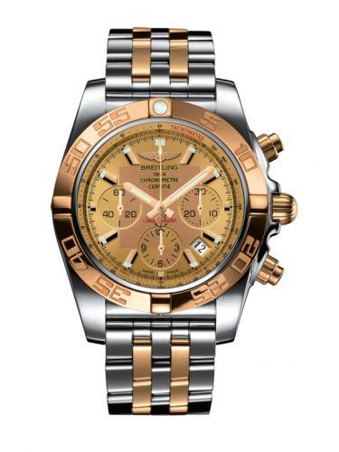 Chronomat 44 Stainless Steel / Rose Gold / Golden Sun / Bracelet