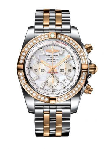 Chronomat 44 Stainless Steel / Rose Gold / Diamond / Pearl Diamond / Bracelet