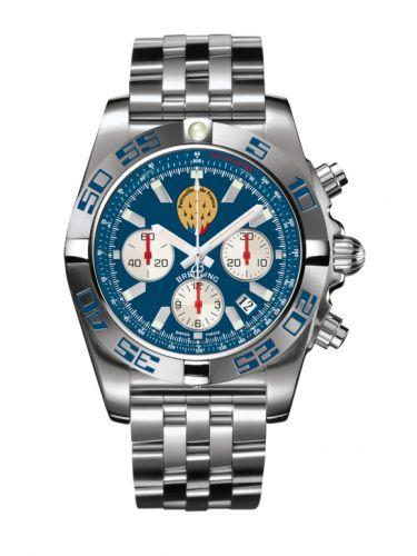 Chronomat 44 Stainless Steel / Patrouille de France / Bracelet