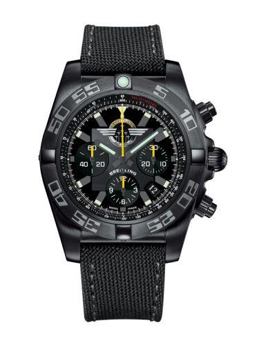 Chronomat 44 Blacksteel / Breitling Jet Team / Military