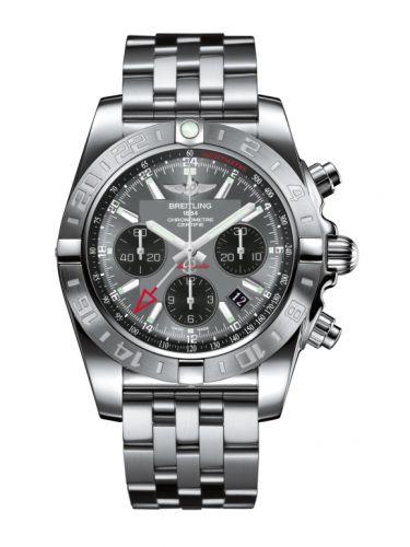 Chronomat 44 GMT Stainless Steel / Blackeye Grey / Bracelet