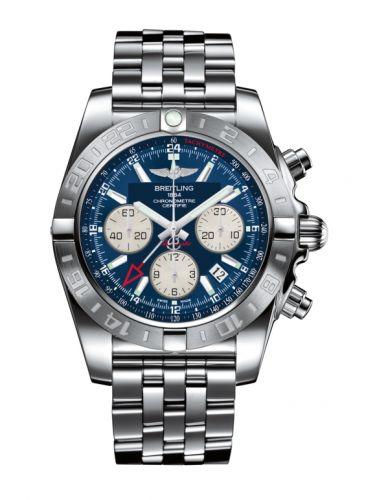 Chronomat 44 GMT Stainless Steel / Metallica Blue / Bracelet