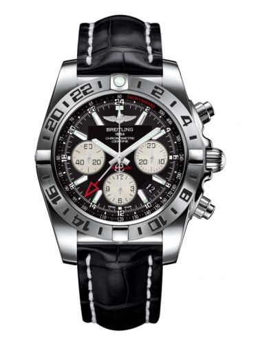 Chronomat 44 GMT Stainless Steel / Onyx Black / Bracelet