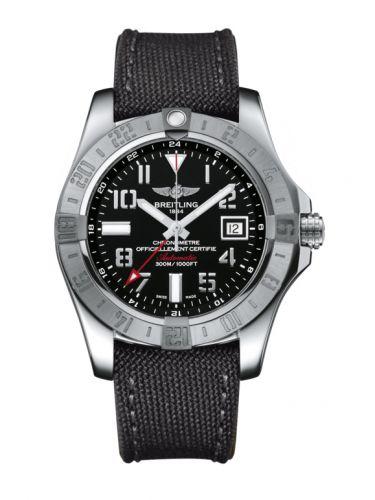 Avenger II GMT Stainless Steel / Volcano Black / Military