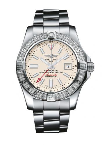 Avenger II GMT Stainless Steel / Diamond / Stratus Silver / Bracelet