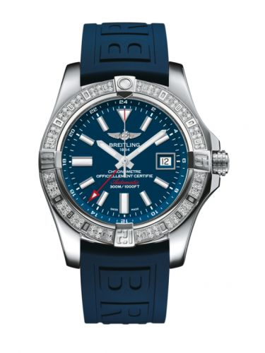 Avenger II GMT Stainless Steel / Diamond / Mariner Blue / Rubber