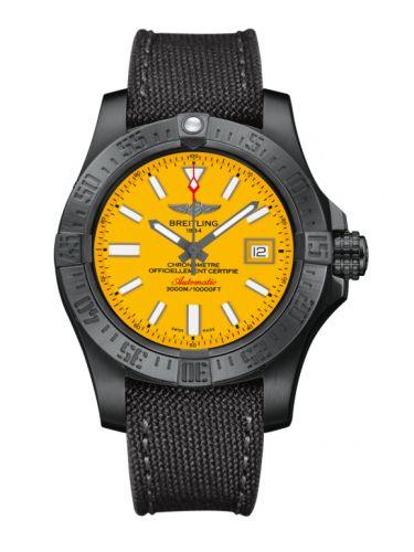 Avenger II Seawolf Black Steel / Cobra Yellow / Military / Limited Edition
